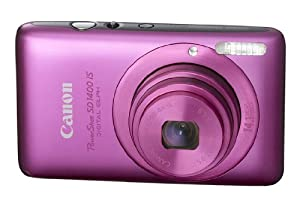 Canon PowerShot SD1400IS 14.1 MP Digital Camera with 4x Wide Angle Optical Image Stabilized Zoom and 2.7-Inch LCD (Pink)