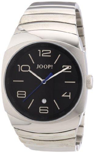 Joop Odyssey JP100681F08 - Reloj analógico de cuarzo para hombre, correa de acero inoxidable color plateado