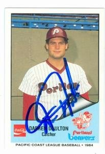 Darren Daulton autographed Baseball Card (Philadelphia Phillies Portland Beavers)... by Autograph Warehouse