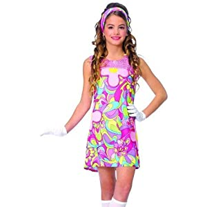 Disco Clothes: Kids Girls Costumes Hippie Hippy Go Go ...