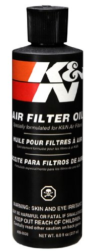 K&N 99-0533 Air Filter Oil - 8 oz. Squeeze (Oil Filter Kit compare prices)