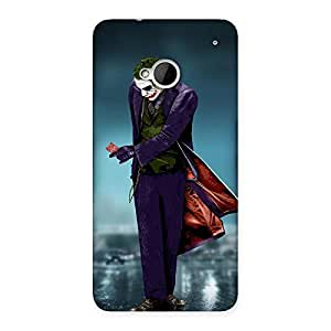 Ajay Enterprises Fill Psyco Multicolor Back Case Cover for HTC One M7
