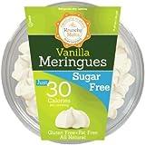 Krunchy Melts' Sugar Free Vanilla Meringue Cookies 2 Oz Tub