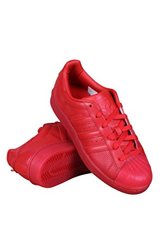 Adidas Men Superstar Adicolor (red / scarlet) Size 9 US