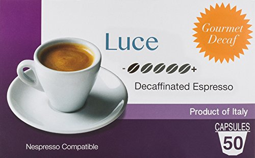 Coffee Pods (Nespresso Compatible) - Decaf From Italy - By Mixpresso (50 Count) (Lavazza Nespresso Pods compare prices)