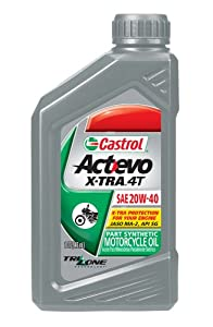 CASTROL MOTORCYCLE OIL TTS SYNTHETIC 2 STROKE 1L