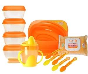 Vital Baby Feeding Kit (Orange)