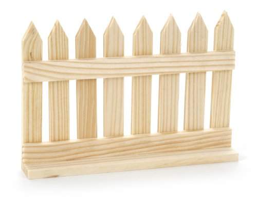 Darice 9134-42 Picket Fence Model, 6-1/2-Inch