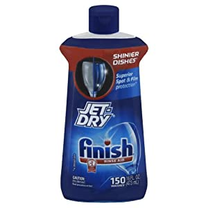 Finish Jet Dry Rinse Aid, Dishwasher Rinse Agent, 16 Ounce