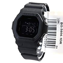 Casio Baby-g Digital Military Series Watch Black Bg5606-1dr