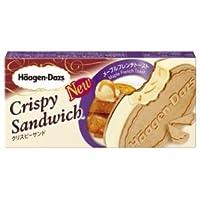 【ハーゲンダッツアイスクリーム】 クリスピーサンド メープルフレンチトースト6個