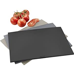 Eva Solo Chopping Boards, 3 pcs. with holder, Grey
