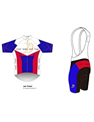 Customize Short Sleeve Cycling Jersey And BIB Shorts kits,Custom Cycling Wear / bicycle clothing Free shipping