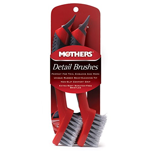Mothers Detail Brush Set - 2 Pack (Mothers Wheel Brush compare prices)