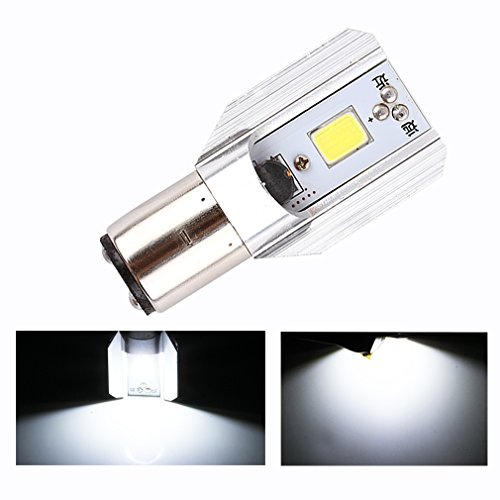 ToAUTO H6 Led Motorcycle Headlight Bulbs COB Led 1000LM BA20D H/L Lamp Scooter ATV Moto Accessories Fog Lights For Suzuki (Tacoma Fog Light Insert compare prices)