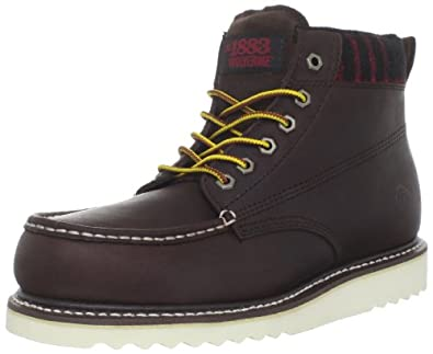 1883 by Wolverine Men's Shindell Boot,Twig,9.5 M US