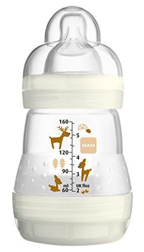 mam-anti-colic-flasche-160-ml-mit-sauger-grosse-1-ab-0-monate-neutral-reh-ivory-1-stuck