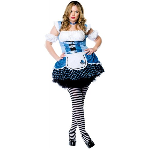 Halloween 2017 Disney Costumes Plus Size & Standard Women's Costume Characters - Women's Costume CharactersMagic Mushroom Alice Costume - Plus Size 1X/2X - Dress Size 16-20