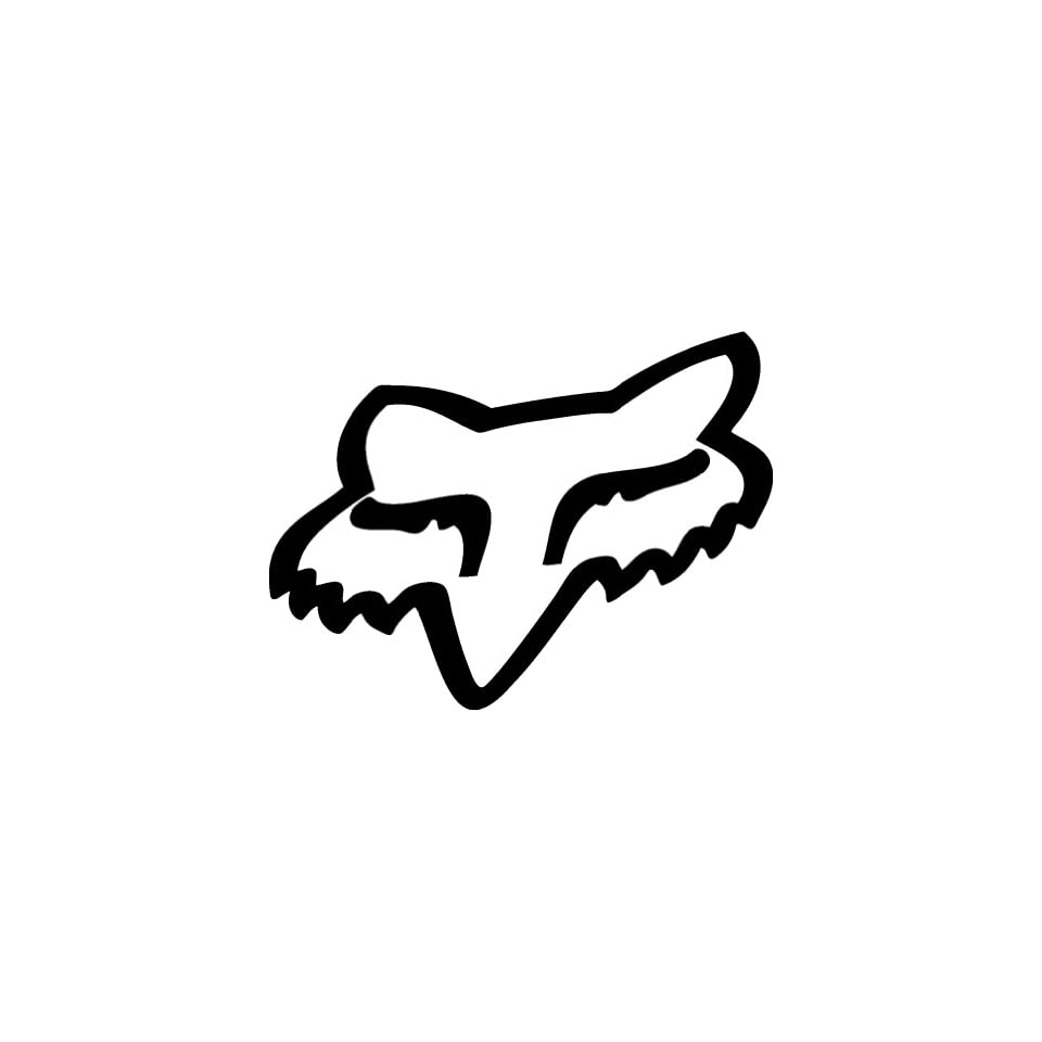 FOX Giant 12 LIME GREEN Vinyl Sticker/Decal (Sports,Racing,Clothing)