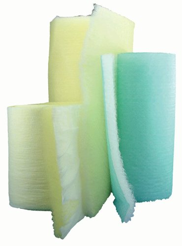 15 Gram Green & White Fiberglass Roll - 36x300'