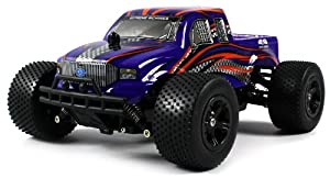 Super Formula-X Electric RC Truggy Off Road Racing 1:16 Scale Ready To Run RTR, Rechargeable, Independent Spring Suspension (Colors May Vary) from Velocity Toys