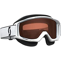 Scott Tyrant Adult Ski Snowmobile Goggles Eyewear - White / Amplifier Rose