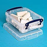 Really Useful Boxes 0.75 Litre Rectangle Really Useful Box Clear