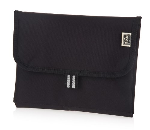 Polar Gear Baby Hand Bag Size Changing Mat (Black) front-887345