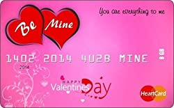 ZBEL WOS327-Valentine Credit Card 8 GB Fancy Pendrive
