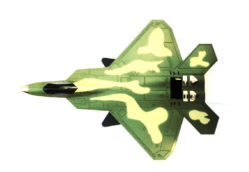Lightahead® Portable Army Battle Fighter Jet Plane Shaped Led Display Speaker For Mobile Phone & Other Devices. Micro Sd & Usb Slot For Mp3 Player With Fm Radio (Green)