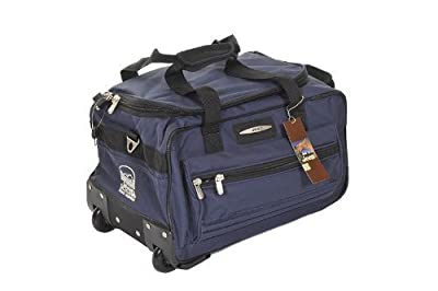 "jeep 18"" cabin size approved lightweight wheel bag cabin trolley holdall"