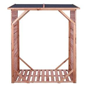 Kaminholzregal IMPRÄGNIERT Brennholzregal Kaminholzunterstand für bis zu 1,15 m³ Brennholz  BaumarktKundenbewertungen