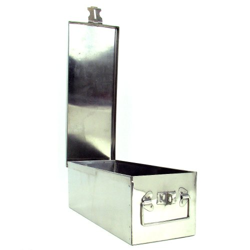 Stalwart 75-005 Metal Storage Lock Box, 12""