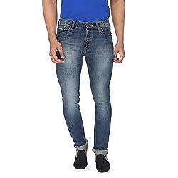 Rican Slim Fit Denim Lycra Jeans for Men