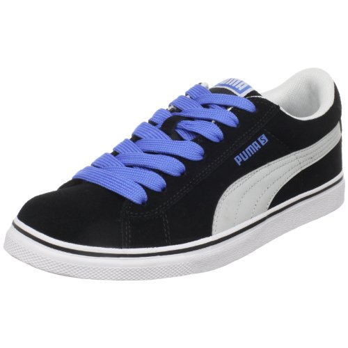 PUMA S Vulc Fashion Sneaker,Black-Gray Violet-Palace Blue,US Women's 9/ US Men's 7.5 D