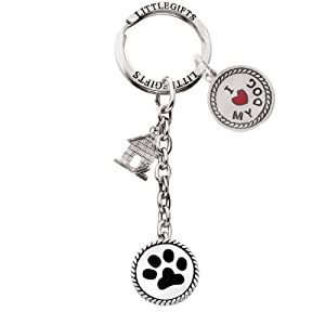 LittleGifts Keychain, Dog Lover by LittleGifts, Inc.