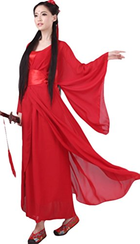 Chinese Style Stage Costume Women's Fairy's Dresses Halloween Cosplay HanFu
