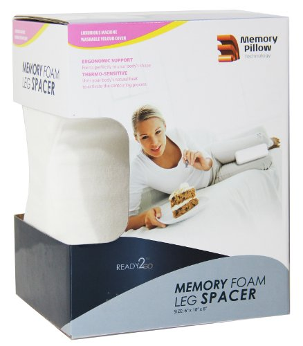Comfort Memory Foamthigh Pillow With Removable Cover Orthopedic Spine Support front-846829
