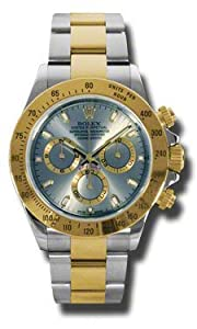 Rolex Daytona Grey Chronograph Steel And Yellow Gold Mens Watch 116523GYSO by Rolex