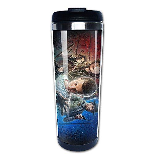 Stranger Things Double Walled Travel Coffee Mug