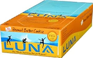 Clif Bar: Luna Bar Peanut Butter Cookie 15 ct
