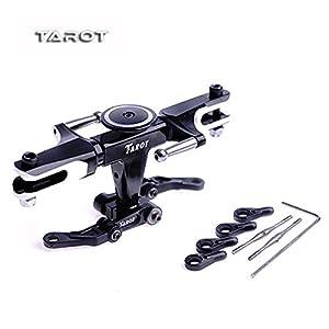Amazon.com: Tarot 450 PRO Flybarless System Metal Head Rotor Black