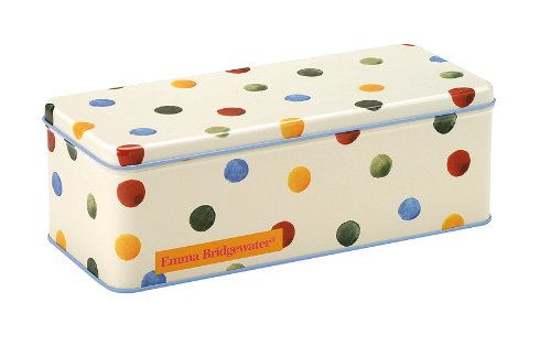 Emma Bridgewater Rectangular Polka Dot Tin