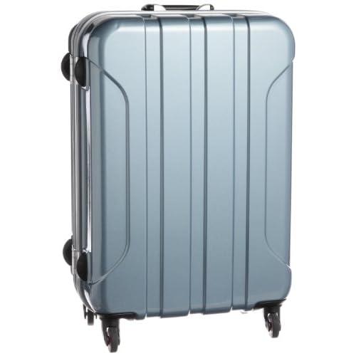 [ヒデオワカマツ] HIDEO WAKAMATSU リード ポリカーボネート製TSAロックスーツケース Mサイズ(62.5cm) 85-75644 ブルーグレー (ブルーグレー)