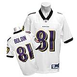 (リーボック)Reebok NFL レイブンズ #81 アンクワン・ボールディン Premier ユニフォーム (ホワイト)