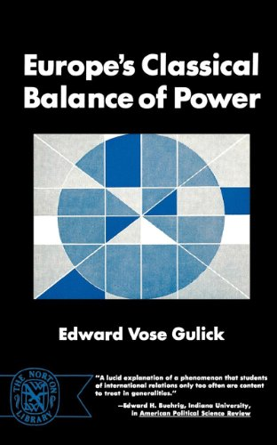 Europe's Classical Balance Of Power