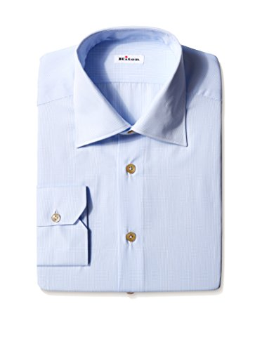 Kiton Men's Solid Dress Shirt