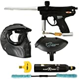 Piranha GTI Paintball Player Package - Black