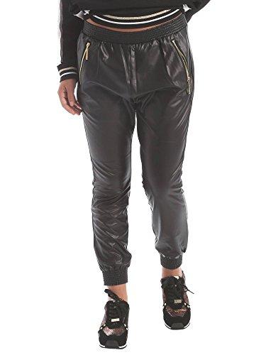 <p>LIU JO SPORT Pantaloni ecopelle con molla donna, T66049 nero, vestibilità slim</p>