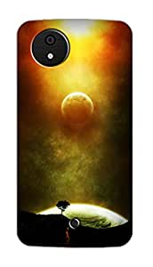 SWAG my CASE PRINTED BACK COVER FOR MICROMAX CANVAS A1 Multicolor